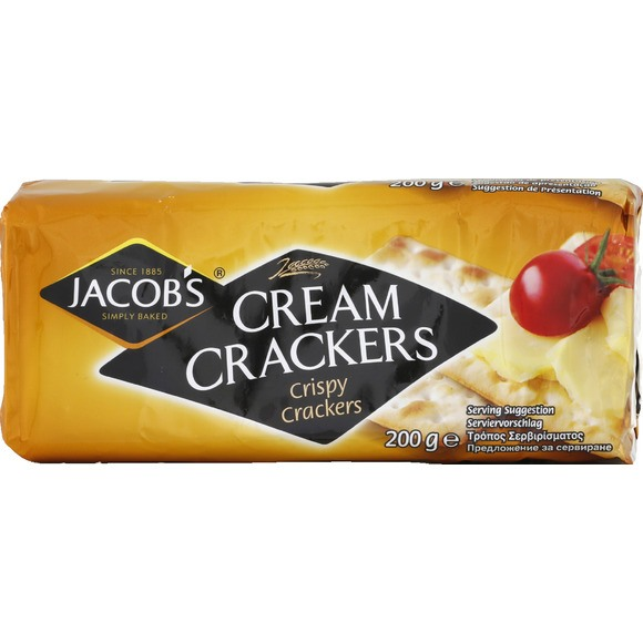 Cream crackers, Jacob's (200 g)