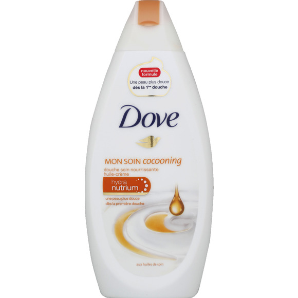Gel douche huile crème de soin, Dove (250 ml)