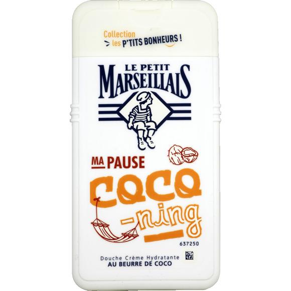 Gel douche crème hydratante au beurre de coco, Le Petit Marseillais (250 ml)