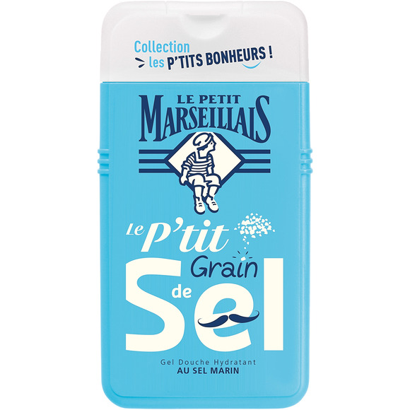 Gel douche hydratant au sel marin, Le Petit Marseillais (250 ml)