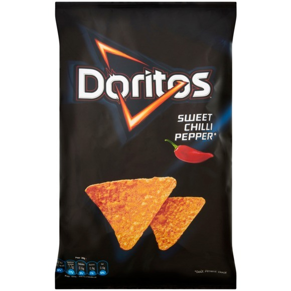 Chips goût sweet chili pepper, Doritos (170 g)