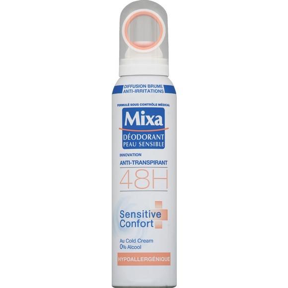 Déodorant spray Sensitive Confort, Mixa (150 ml)