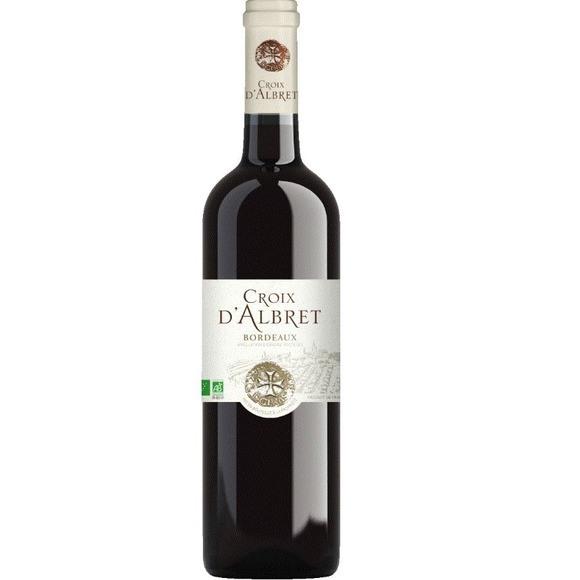 Bordeaux Croix d'Albret BIO 2016 (75 cl)