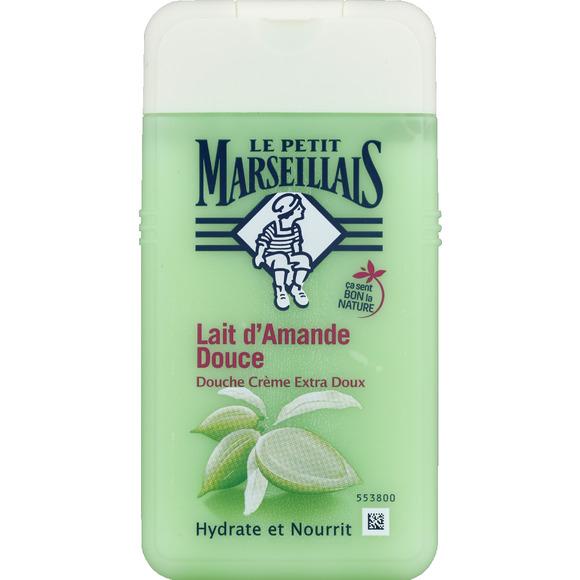 Gel douche extra doux lait d'amande, Le Petit Marseillais (250 ml)
