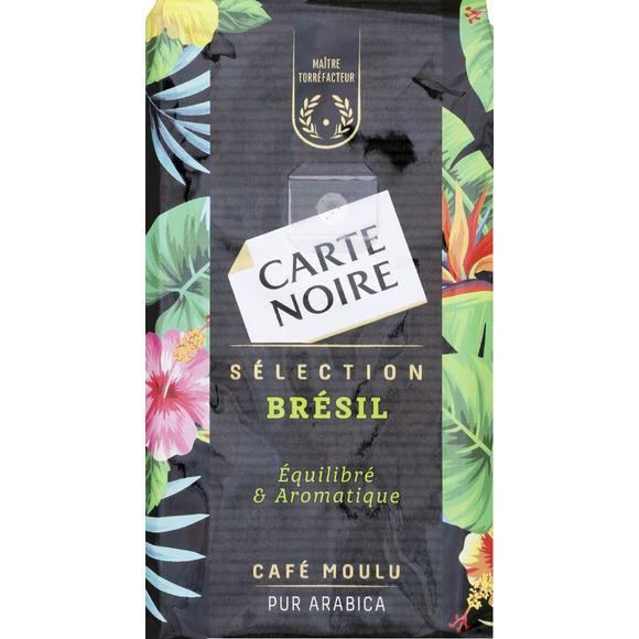 Café moulu sélection Brésil, Carte Noire (250 g)