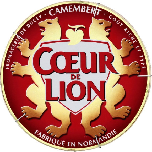 Camembert, Coeur de Lion 45% (250 g)