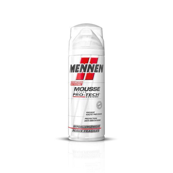 Mousse à raser Pro-Tech Système, peaux fragiles, Mennen (250 ml)