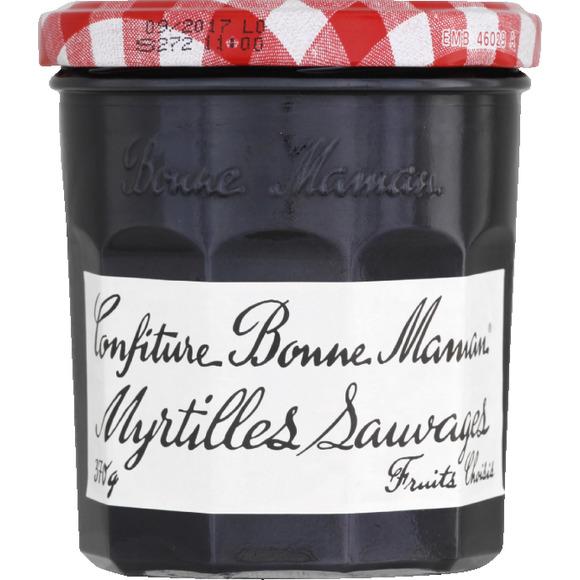 Confiture de myrtilles, Bonne Maman (370 g)