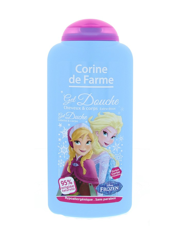 Gel douche cheveux/corps Reine des neiges, Corine de Farme (250 ml)