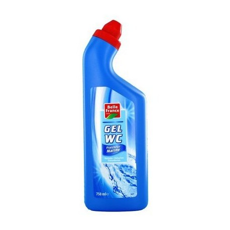 Gel détartrant WC Fraicheur Marine, Belle France (750 ml)