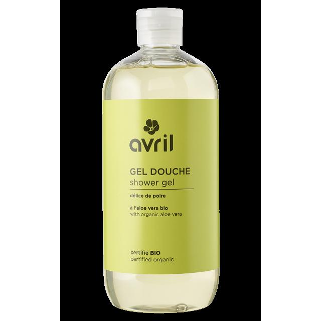 Gel douche délice de poire certifié BIO, Avril (500 ml)