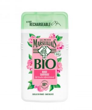 Gel douche rose sauvage BIO, Le Petit Marseillais (250 ml)