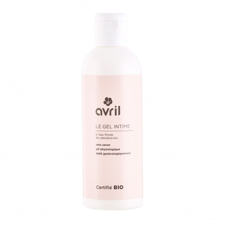Gel intime certifié BIO, Avril (200 ml)