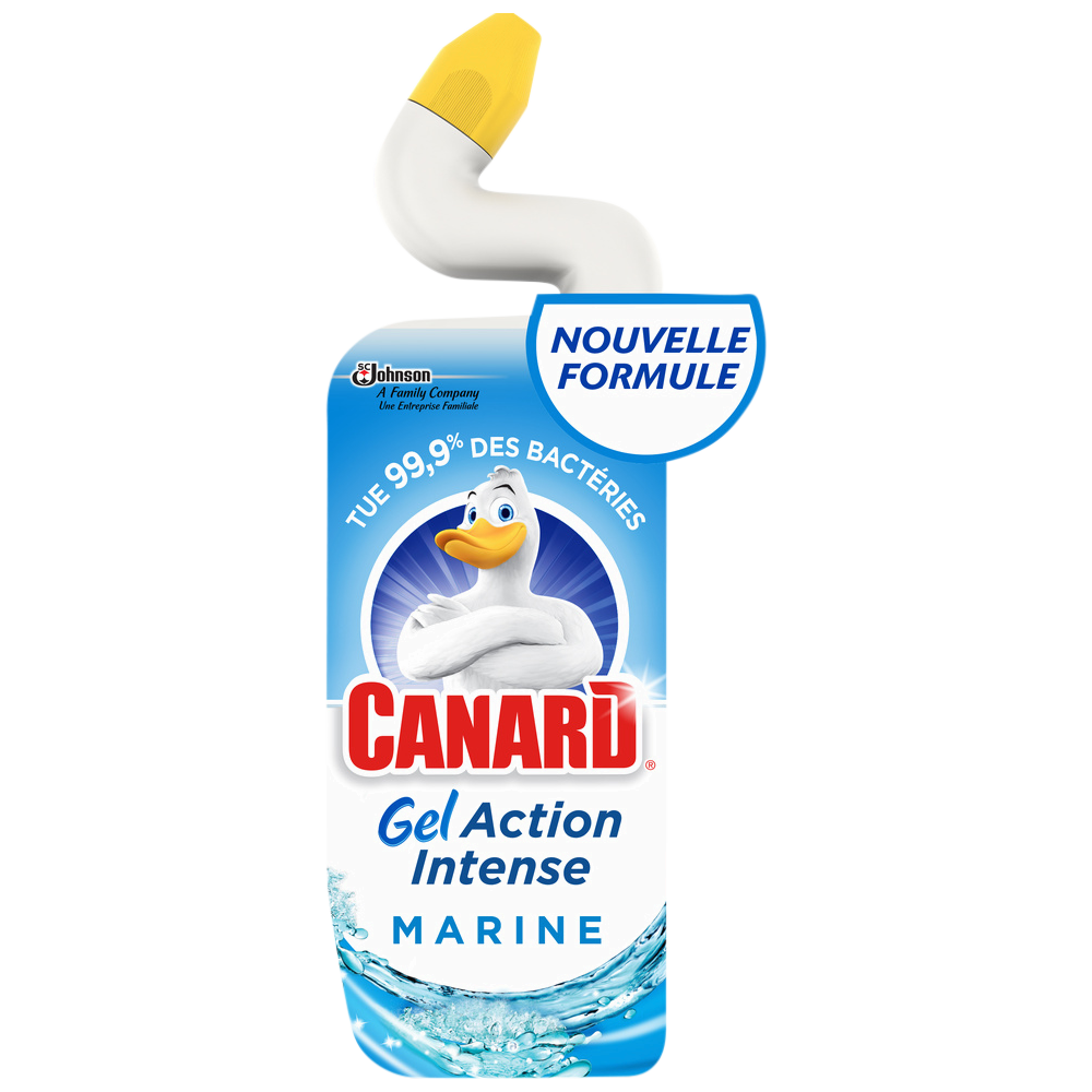 Gel WC marine action intense, Canard (750 ml)