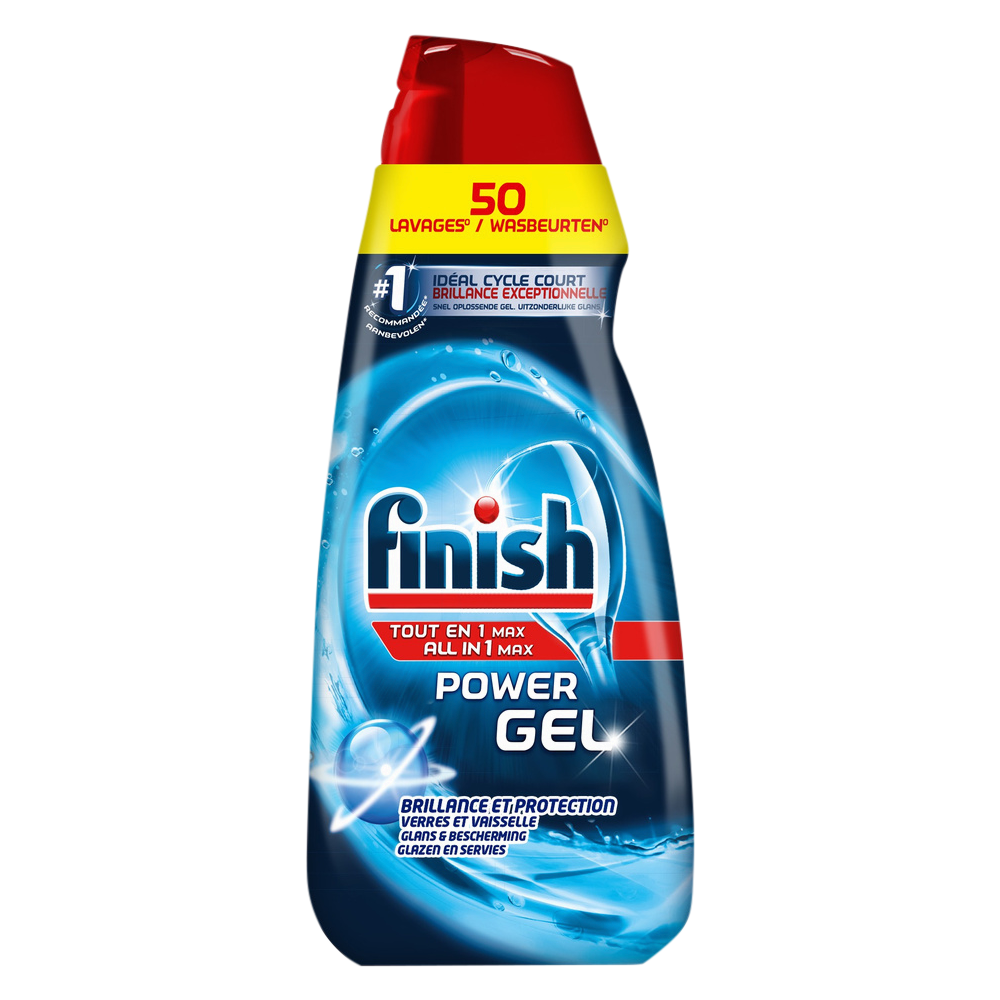 Gel tout en 1, Finish (1 L = 50 lavages)