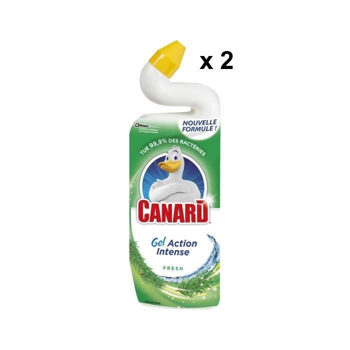 Gel WC Action Intense Fresh, Canard LOT DE 2 OFFRE SPECIALE (2 x 750 ml)