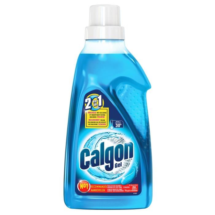 Gel lave linge 2 en 1, Calgon (750 ml)