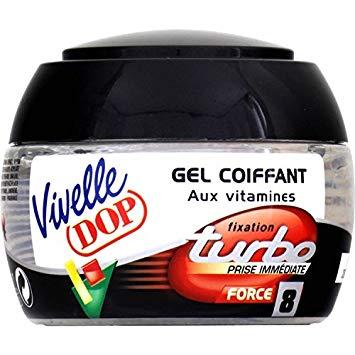 Gel coiffant Turbo, Vivelle (150 ml)