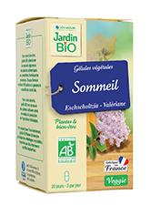 Gélules végétales Sommeil - Eschscholtzia, Valériane BIO (x 40)
