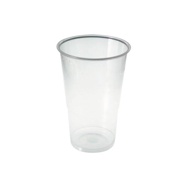 50 gobelets transparents (33 cl)