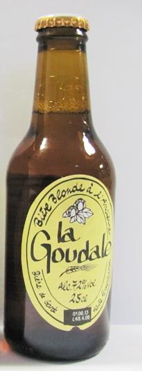 Goudale Blonde à l'ancienne (25 cl)