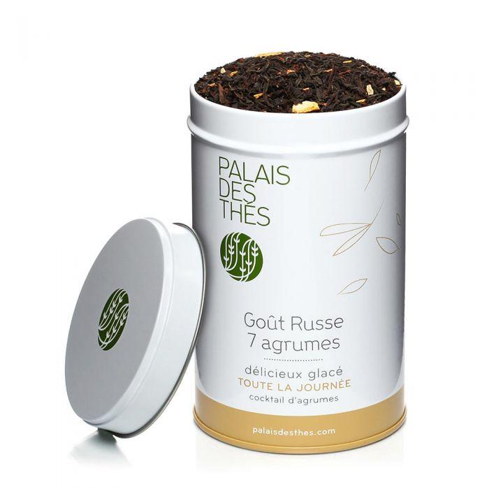 Thé noir goût russe 7 agrumes, Palais des Thés (100 g)