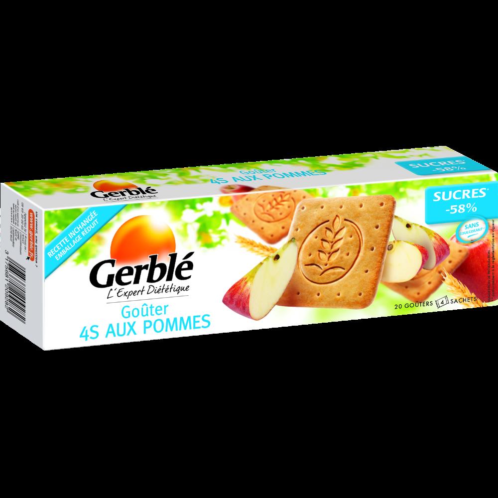 Goûters 4S aux pommes, Gerblé (360 g)