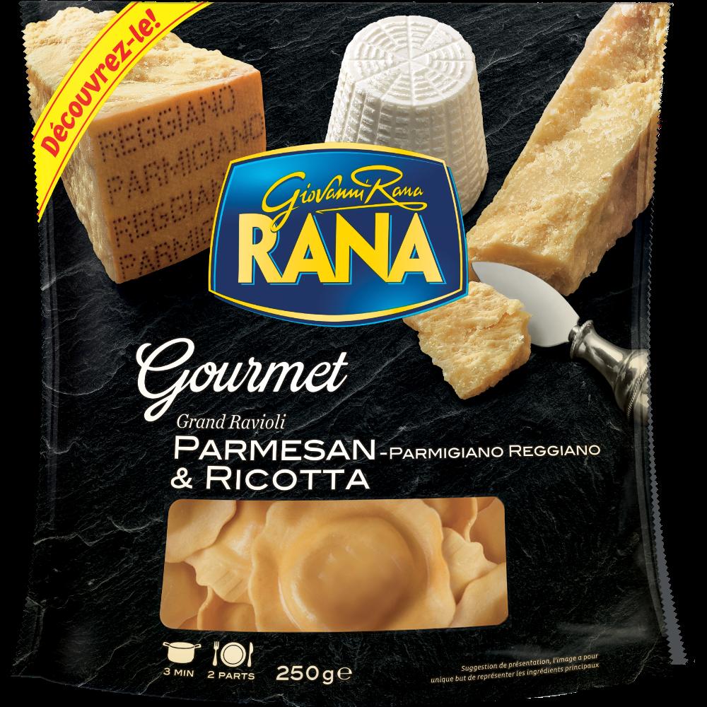 Ravioli Gourmet parmesan et ricota, Giovanni Rana (250 g)