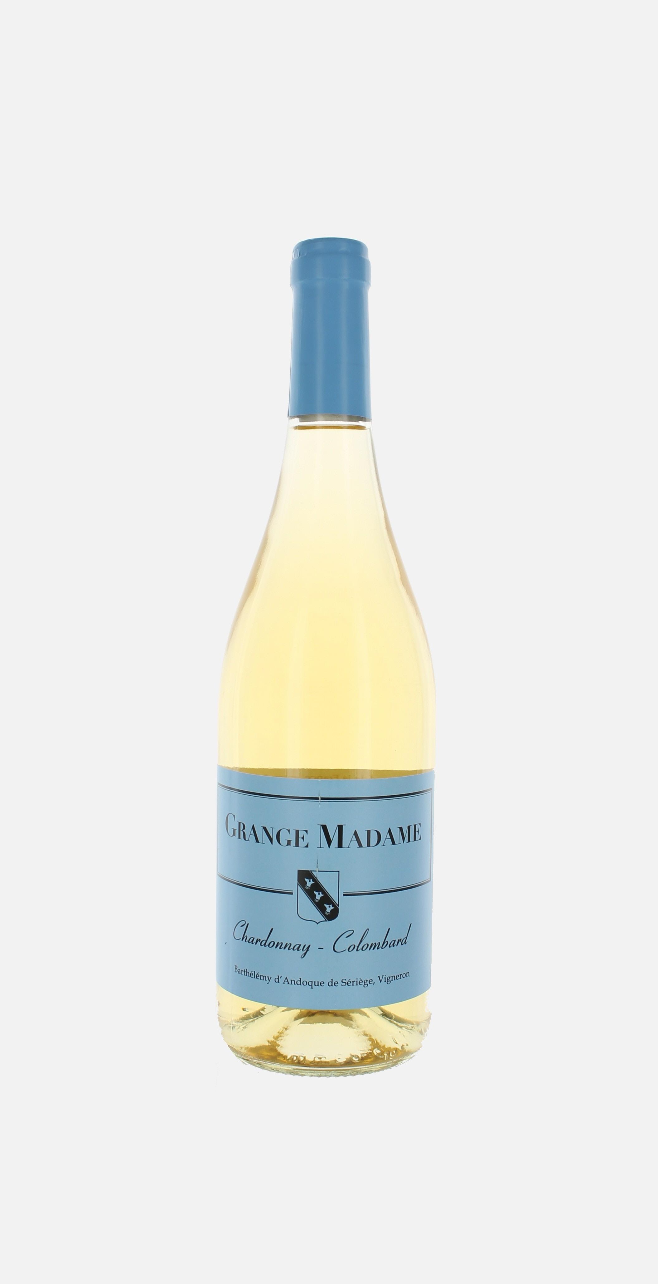 Grange Madame blanc, Chardonnay, Colombard 2015