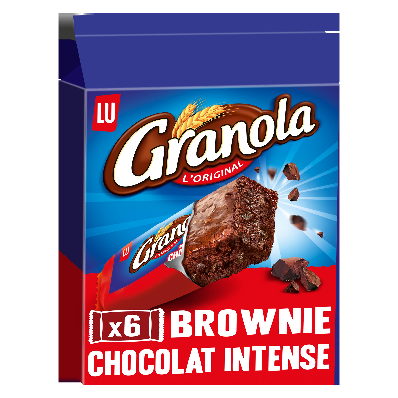 Granola brownie chocolat intense, Lu (180 g)