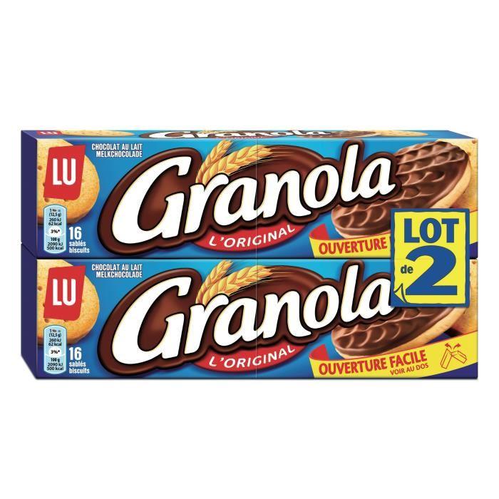 Granola Chocolat au lait, Lu LOT DE 2 (2 x 200 g)