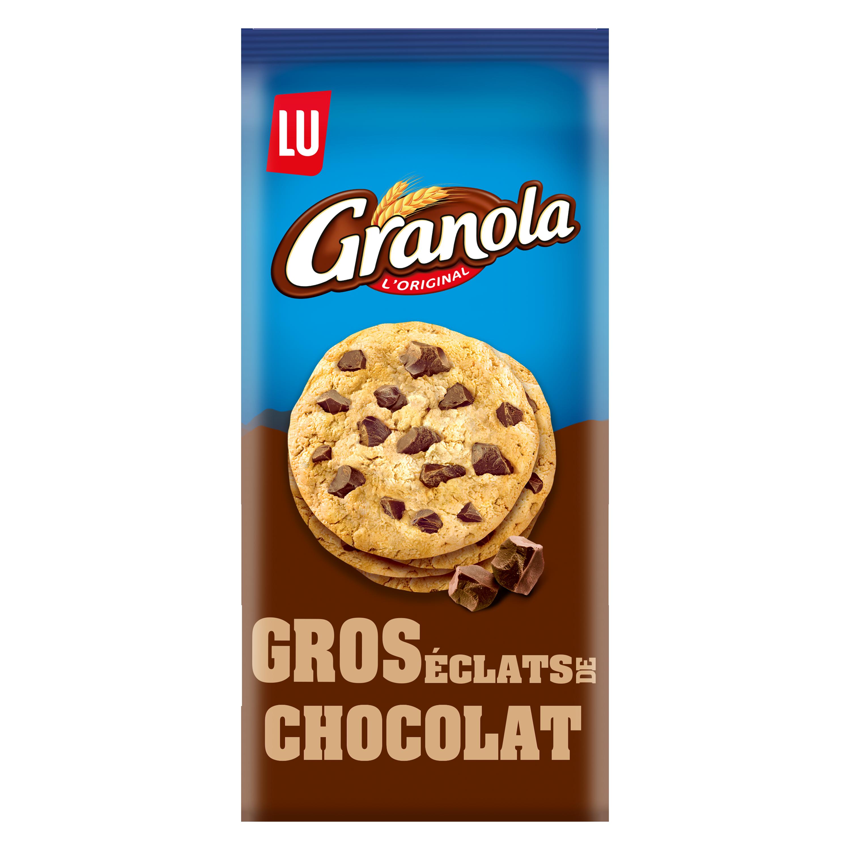 Granola Extra Cookies gros éclats de chocolat, Lu (184 g)
