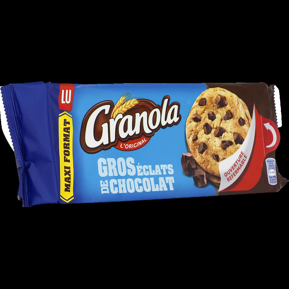 Granola extra cookies chocolat, Lu (276 g)