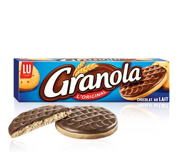 Granola l'original (chocolat au lait), Lu (200 g)