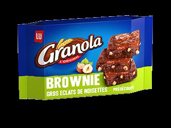 Brownie gros éclats de noisettes, Granola (217 g)