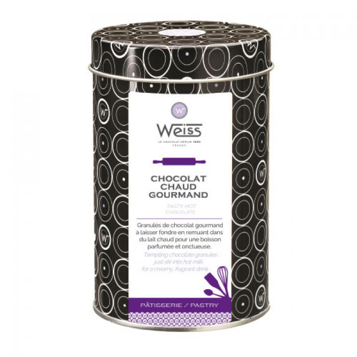 Granules de chocolat chaud gourmand, Weiss (500 g)