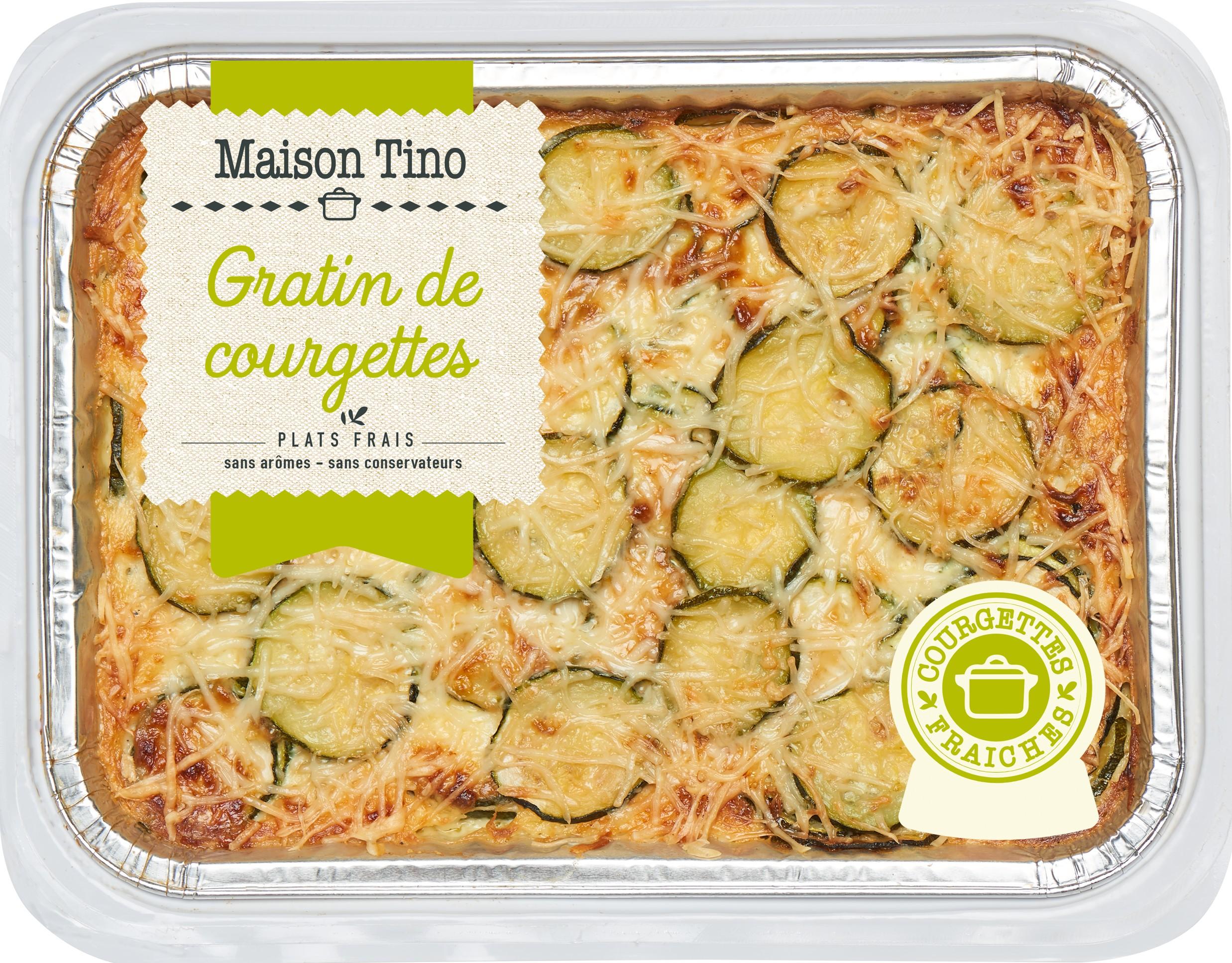 Gratin de Courgettes, Maison Tino (550 g)