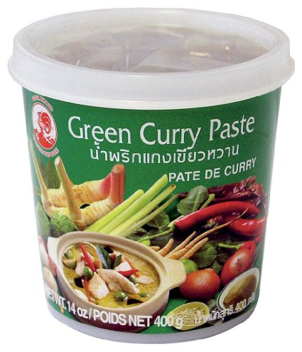 Pâte de curry vert Cock (400 g)