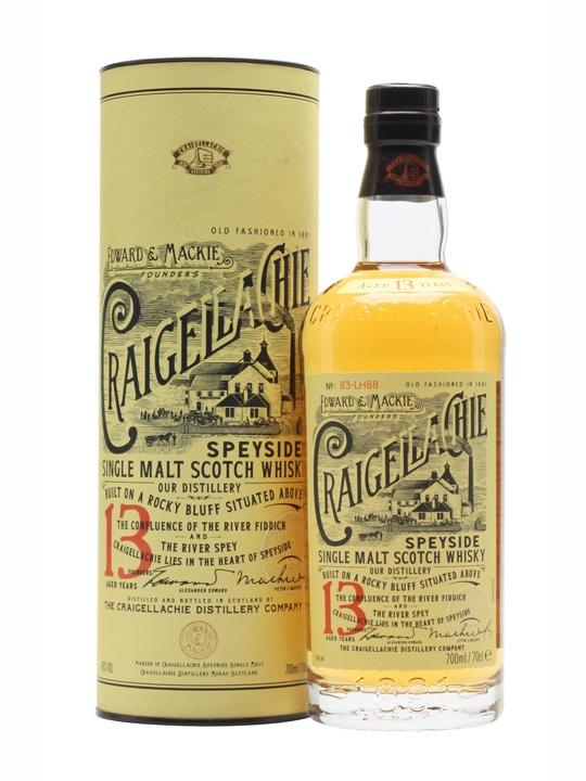 Whisky Graigellachie 13 ans d'âge (70 cl)