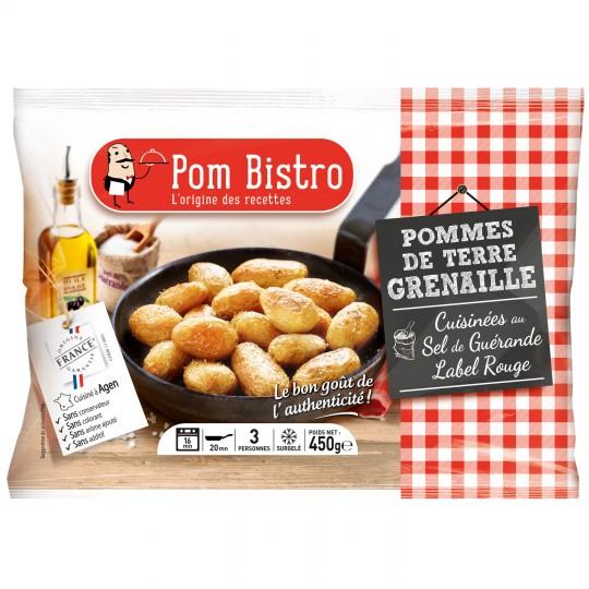Pdt grenaille au sel de Guérande surgelée, Pom Bistrot (450 g)