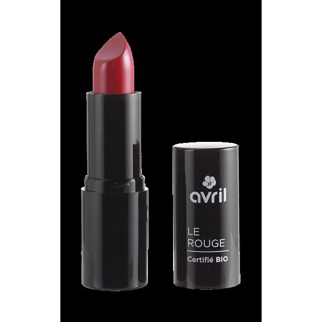 Rouge à lèvres groseille n°599 certifié BIO, Avril