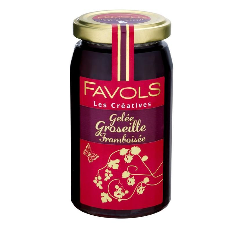 Gelée de groseille framboisée Favols (270 g)