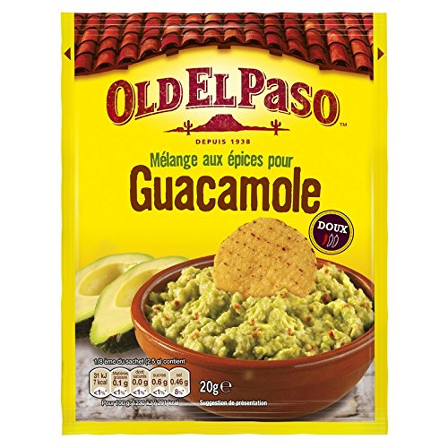 Epices pour guacamole, Old El Paso (20 g)