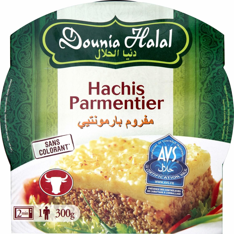 Hachis Parmentier Halal micro-ondable, Dounia Halal (300 g)