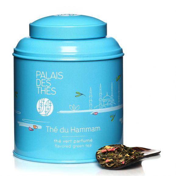 Thé vert du Hammam - boîte colorée, Palais des Thés (100 g)