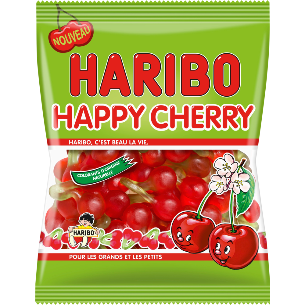 Happy cherry, Haribo (220 g)