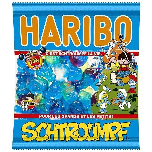Bonbons Schtroumpf, Haribo (200 g)