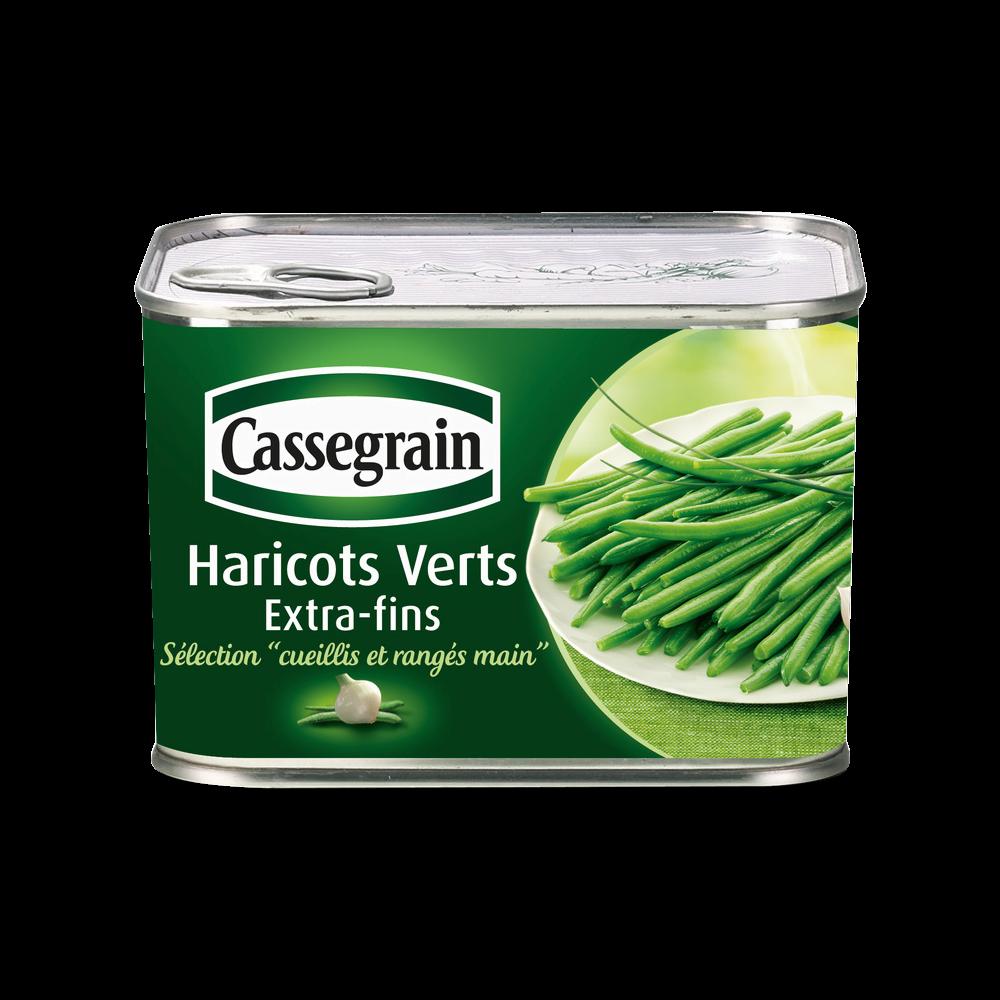 Haricots verts extra fins, Cassegrain (390 g)