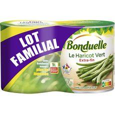 Haricots verts extra-fins, Bonduelle LOT DE 2 (2 x 440 g)