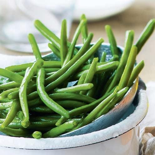 Haricots verts cuits, frais et croquants (150 g)